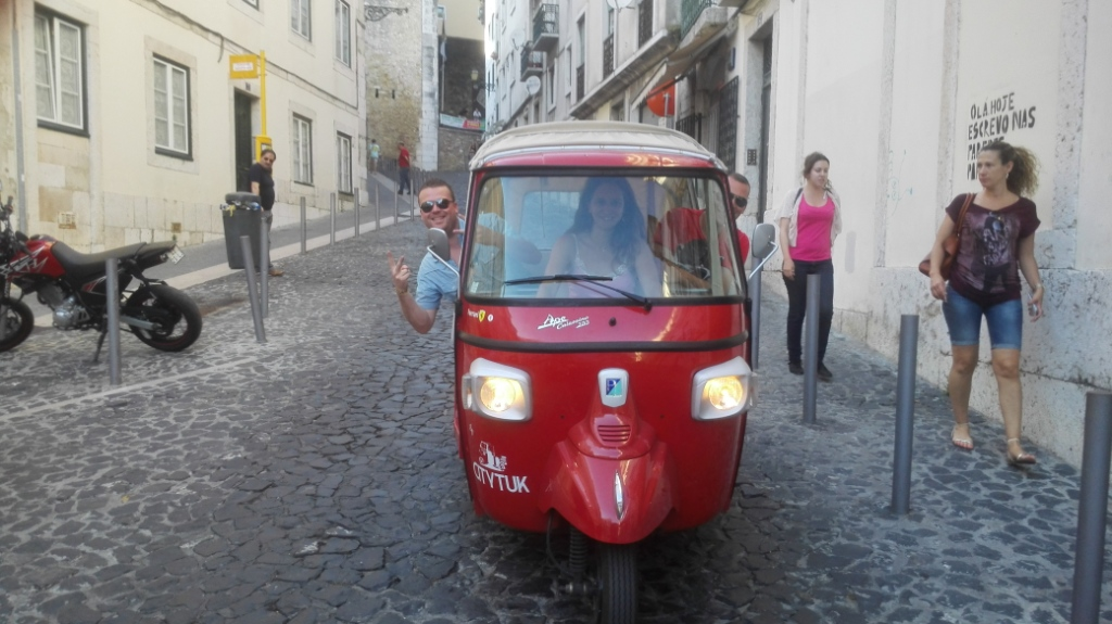 TUK TUK Lisbonne